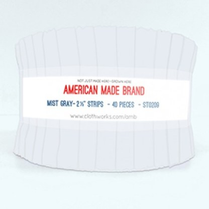 American Made Brand Strip Roll - Mist Grey