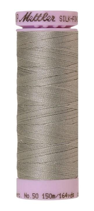 Mettler Silk-finish Cotton 50W 0413 Titan Gray 150m Spool