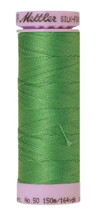 Mettler Silk-finish Cotton 50W 1314 Vibrant Green 150m Spool