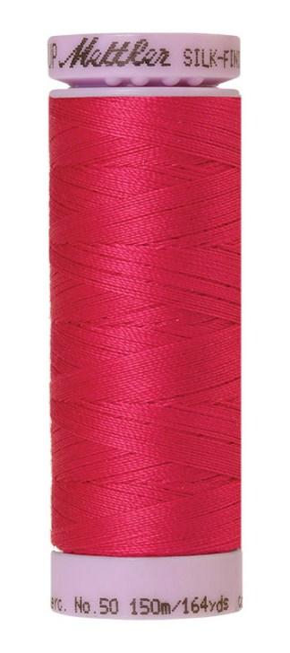 Mettler Silk-finish Cotton 50W 1421 Fuschia 150m Spool
