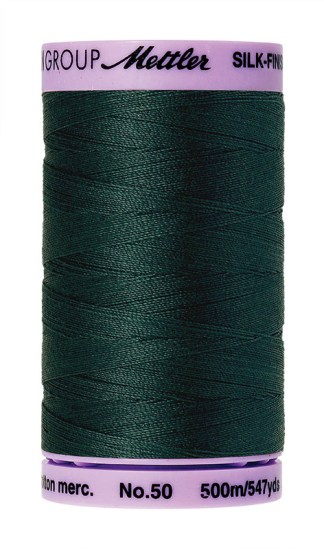 Mettler Silk-finish Cotton 50W 0655 Bayberry 500m Spool