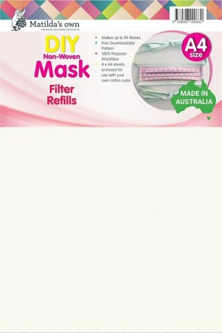 DIY Non-Woven Mask Filter Inserts