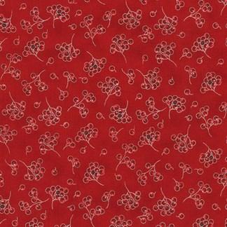 Holiday Flourish 13 SRKM-19263-93 Scarlet