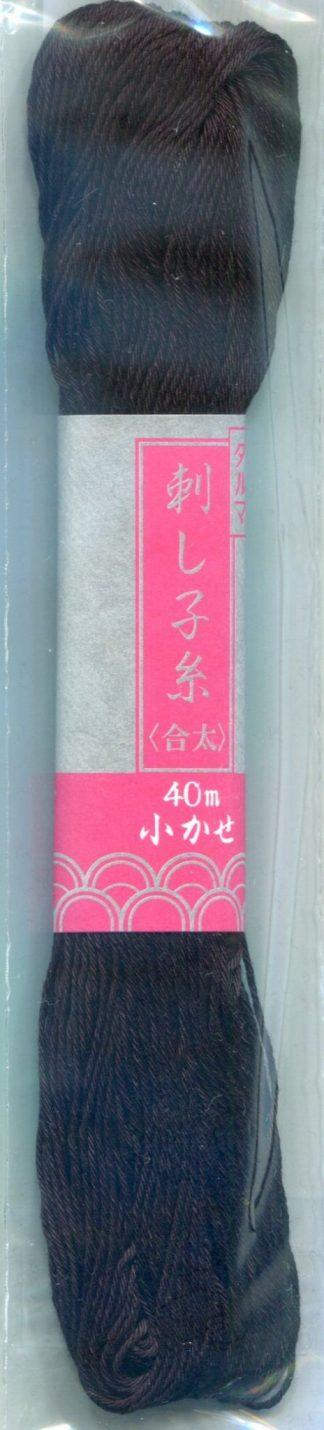 Sashiko Thread - Black (40 Metre Hank)