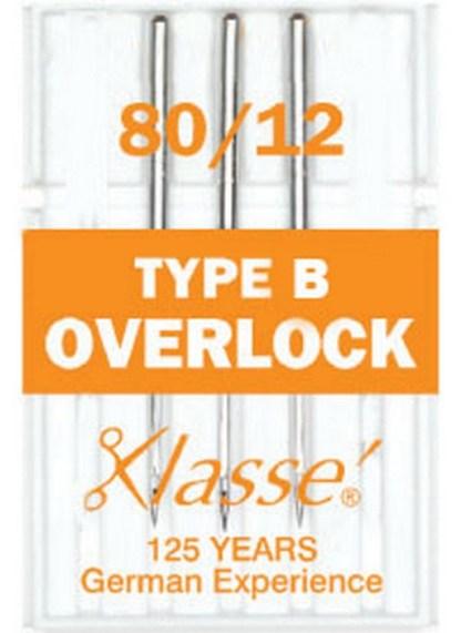 Klasse Overlock Type B Machine Needles 80 / 12