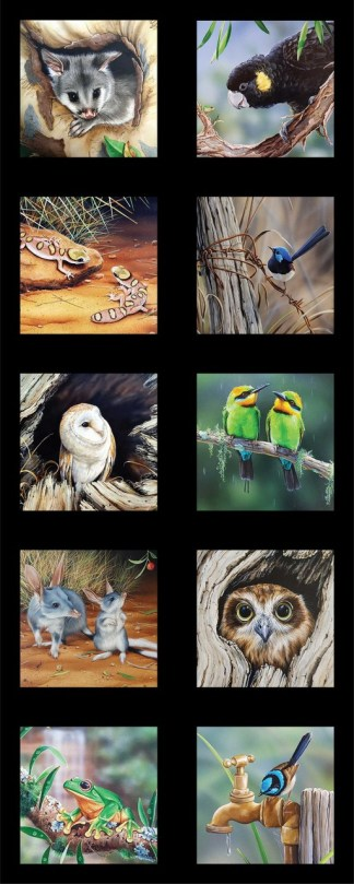 Wildlife Art 5 Panel DV3708