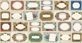 Flea Market Moxie Quilt Labels Panel 7362-11D