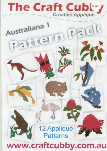 Australiana 1 Appliqué Pattern