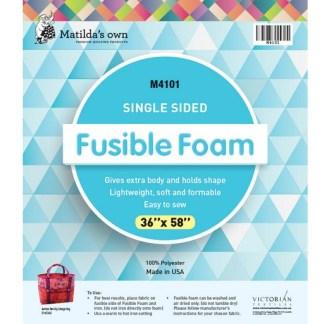 """Single Sided Fusible Foam 36"""" x 58"""""""