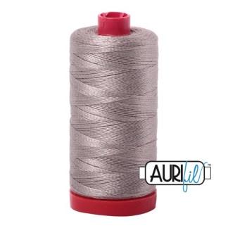 Aurifil 12wt Cotton Mako' 325m Spool - 6730 - Steampunk