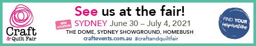 Craft & Quilt Fair Sydney Logo 2021