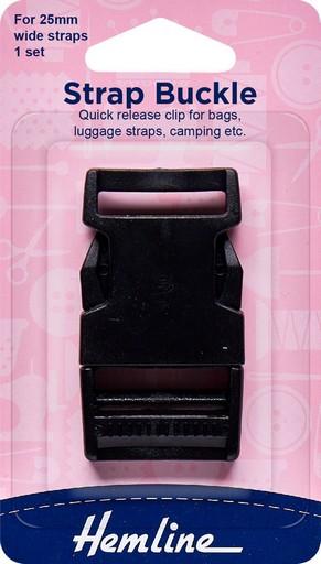 Hemline Strap Buckle 25mm