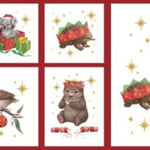 Little Aussie Christmas Panel DV5008