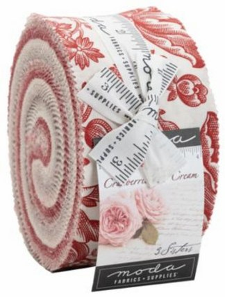 Cranberries and Cream Jelly Roll®
