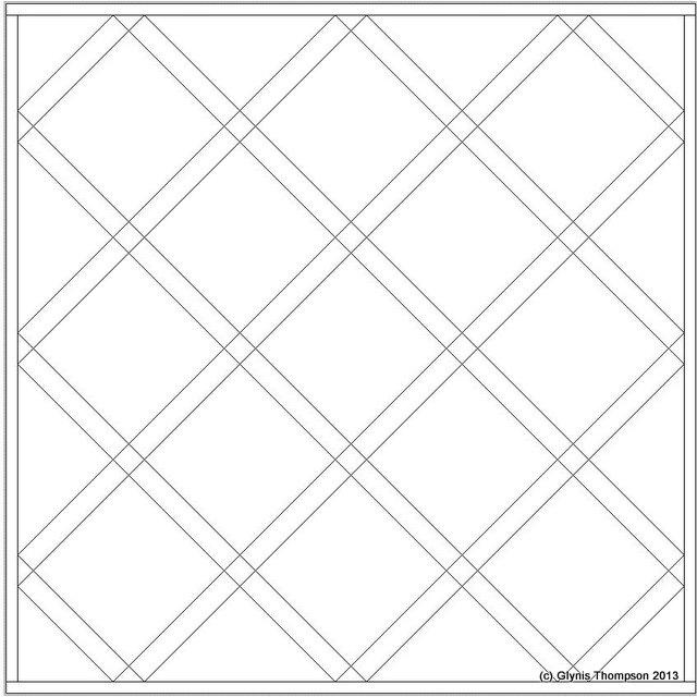 EQ7 Full On-Point Sashing Squares Tutorial
