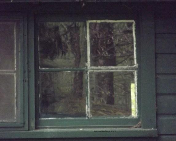 cabin window refection