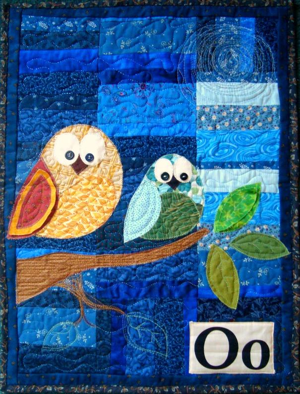 Owl Quilt Pattern : quilt, pattern, Pattern-, Hanging, Patchwork, Posse