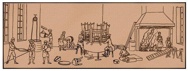 Ilustração - Revolução Industrial