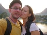 Us two on the bridge