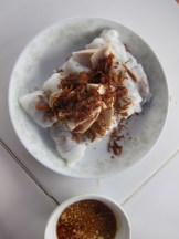 Mushroom filled rice rolls!