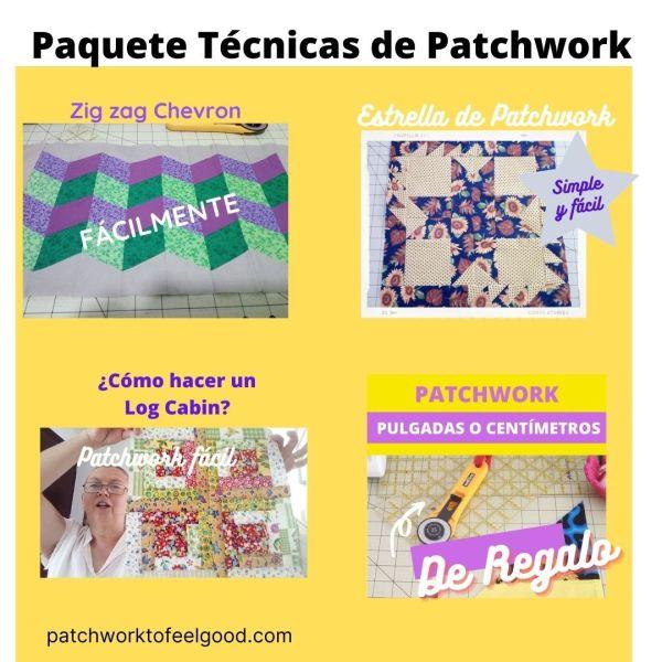 Paquete de Técnicas de Patchwork PDF