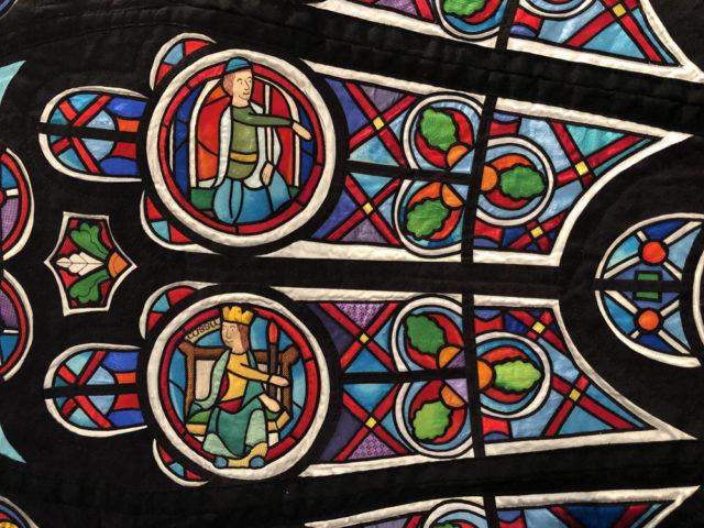 El patchwork inmortaliza Notre Dame