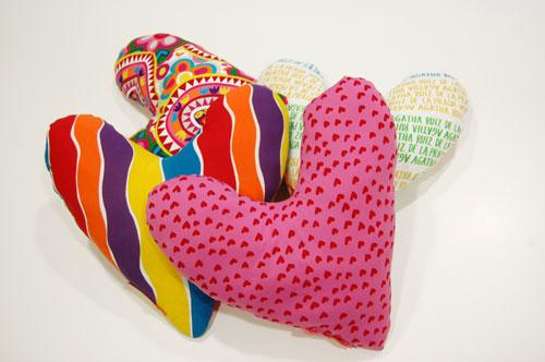 Proyecto Micky, almohada del corazón