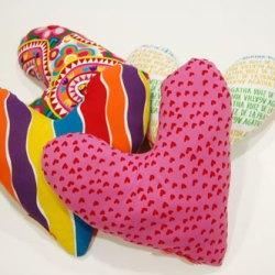 Almohada corazón Imagen Somos Pacientes