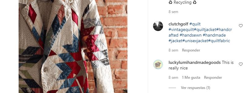 Chaquetas de patchwork, última moda