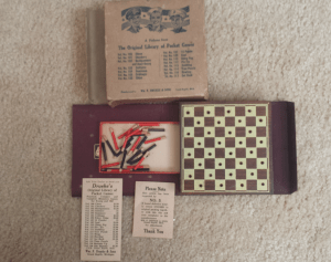 Drueke's Armed Forces Game: Checkers
