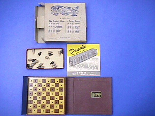 Drueke Chess Set Pocket