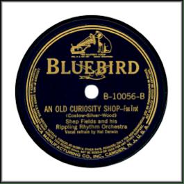 Bluebird with RCA Dog