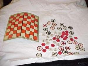 Canadian Chess and Checker Set