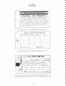 Federal War Ballot Mailbag Tags