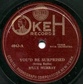 Okeh Record in Red