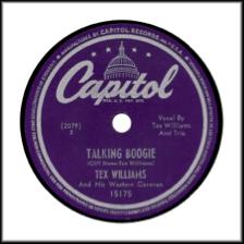 Capitol Records Post World War 2 Rimmed