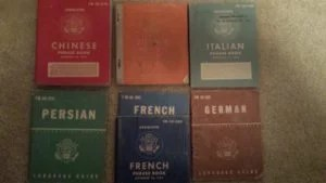 WW2 Language Books