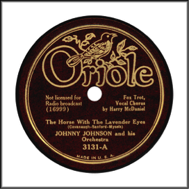Record Label: 1935-1938 Gold on maroon