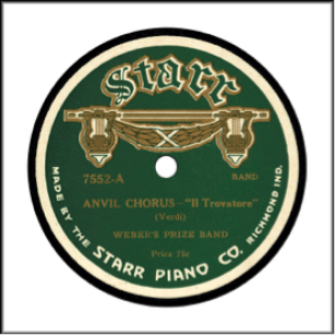 Record Label: 1916-1917. Early Starr Piano Label