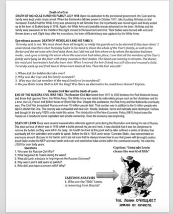 Russian Revolution Page 2
