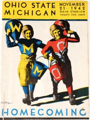 1942 Ohio State vs Michigan