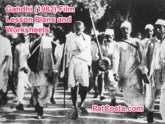 Gandhi Movie World History II SOLs Lesson Plan and Worksheet