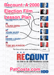Recount 2000 Election Lesson Plan