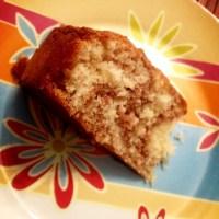 A l'heure du goûter : Gâteau marbré moelleux et délicieux