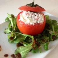 Entrée originale : Tomates farcies froide