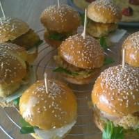 Soirée foot : Mini-burger à l'italienne