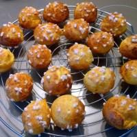 Dessert : chouquettes maison
