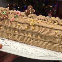 Noël : Bûche à la crème de marron