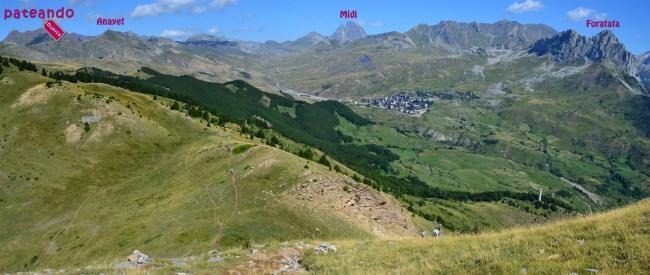 Panorámica desde el Pico Pazino