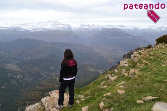 Vistas al macizo de Monte Perdido
